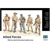 Master Box - Masterbox 3594 Allied Forces North Africa 1:35 Plastic Kit Maquette