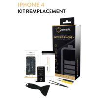REMADE - Kit réparation Batterie iPhone 4
