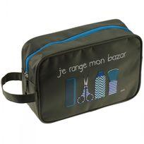 Incidence - Trousse Rectangulaire - Blue Basics - Je range mon bazar - Kaki
