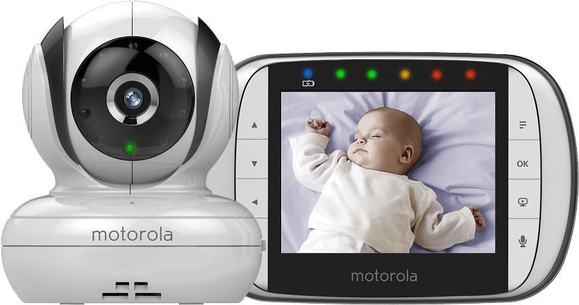 Moniteur bébé vidéo avec écran couleur 3,5