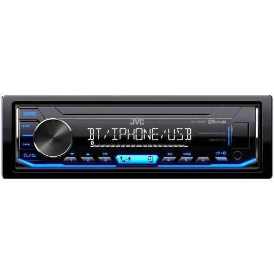 Autoradio numérique - KD-X351BT - Noir