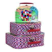 Petit Jour Paris - Set 3 valises Elmer 16 à 25 cm Petit Jour