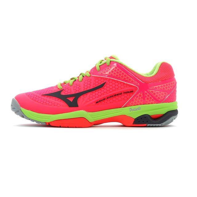 sneakers for cheap 0de33 49cd4 Mizuno - Chaussure de tennis Wave Exceed Tour 2 W Ac - pas cher Achat    Vente Chaussures squash - RueDuCommerce