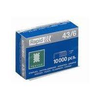 Rapid Agrafage - Rapid - Agrafes N43/6 en Boîte de 10000