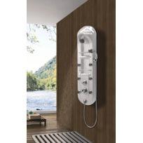 Maison De La Tendance - Colonne de douche hydromassante Pestak en Abs 120x30x17 cm