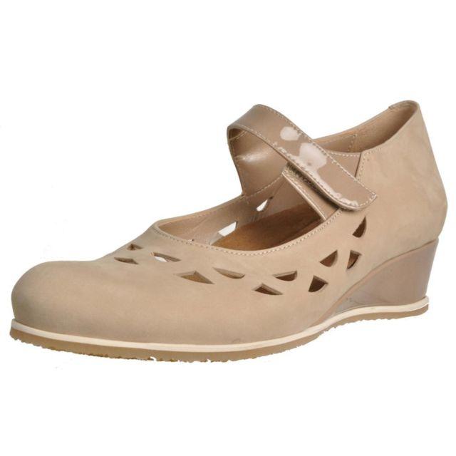Plaju Mocassins et chaussures bateau femme 40007, Marron
