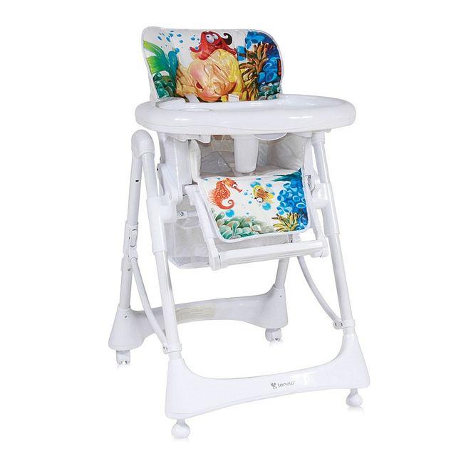 Lorelli chaise haute volutive r glable pour b b lollipop mermaid pas cher achat vente - Chaise haute evolutive carrefour ...