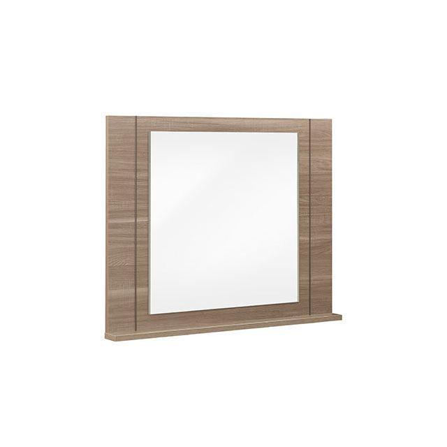 Miroir 115x93x11cm décor chêne - Agathe