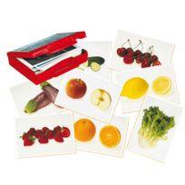 """Akros - jeu """"les aliments"""" - malette de 50 cates-images"""