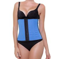 Intimax - Corset Latex Appearance Bleu