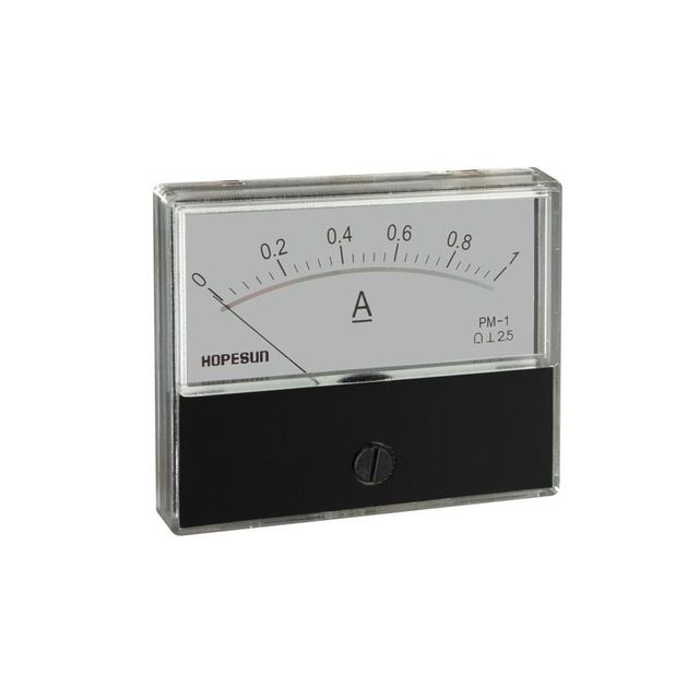 60 x 47mm AMPEREMETRE ANALOGIQUE DE Tableau 30A CC