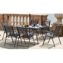 ensembles tables et chaises - achat ensembles tables et chaises ... - Table Et Chaise De Jardin En Resine Tressee