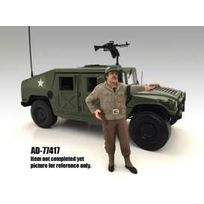 American Diorama - Figurines Wwii Usa Military Police 4 with pistol - 1/18 - 77417
