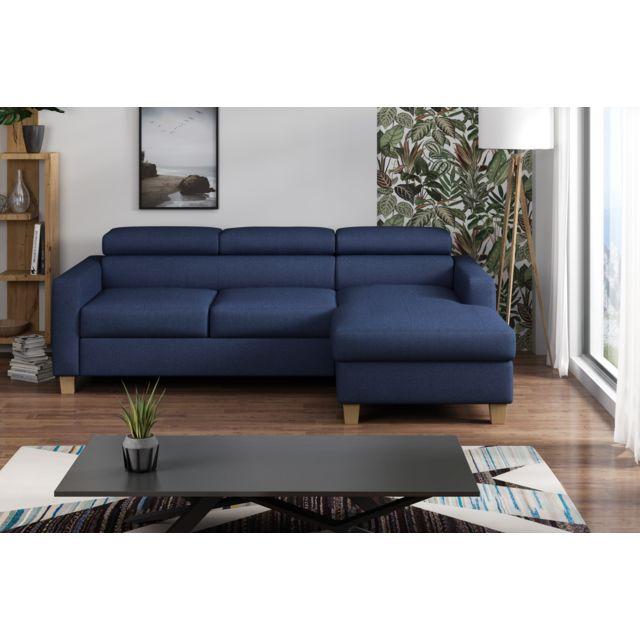 Canapé lit angle gauche collection Elégance
