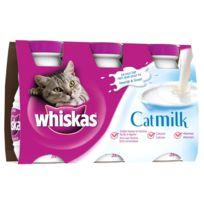 Whiskas - Lait Catmilk pour Chat - 3x200ml