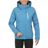 Axant - Mount Bryce - Veste doublée 3 en 1 femme - bleu