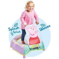 Worlds Apart - Peppa Pig Trampoline avec Effets Sonores