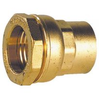 Sferaco - Raccord à serrage extérieur laiton droit femelle Ø 32 Ø 26/34