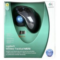 Logitech - M 570 Trackball sans fil noir
