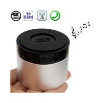 Yonis - Enceinte Bluetooth smartphone tablette kit mains libres Chrome