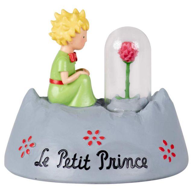Le Petit Prince Figurine et la rose