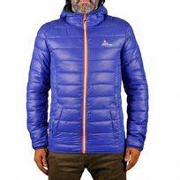 Peak Mountain - Doudoune fine à capuche homme Censeodn- Bleu