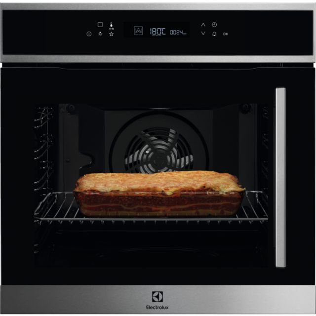 ELECTROLUX four intégrable multifonction 72l 60cm a+ pyrolyse inox - eof7p00lx