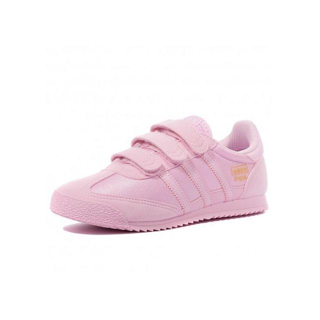 Adidas originals - Dragon Cf Fille Chaussures Rose Adidas Multicouleur - 34 - pas cher Achat / Vente Baskets homme - RueDuCommerce