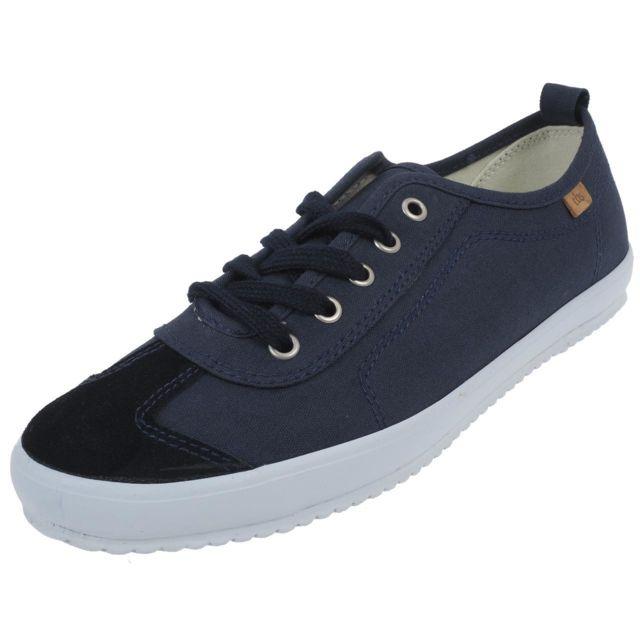 d965a4ed7df Tbs - Chaussures basses toile Fairley navy lady Bleu 55276 - pas cher Achat    Vente Baskets femme - RueDuCommerce