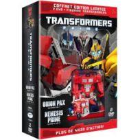 Primal Screen - Transformers Prime - Saison 2, Vol. 1 : Orion Pax + Vol. 2 : Nemesis Prime