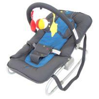 Escos - Transat relax avec jeux Baby Free Duck Blue
