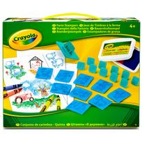 CRAYOLA - Jeux de timbres lavable - 04-2019-E-000