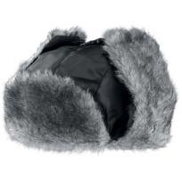 K-up - Bonnet trappeur fausse fourrure Kp510 - noir