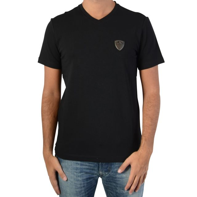 Ea7 Noir Emporio 1200 Tee 6xpt82 Armani Pas Shirt 4PFxMT