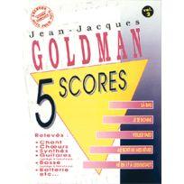 Musicom - Partitions Variété, Pop, Rock. Goldman J.j - 5 Scores Vol. 2 Piano Chant