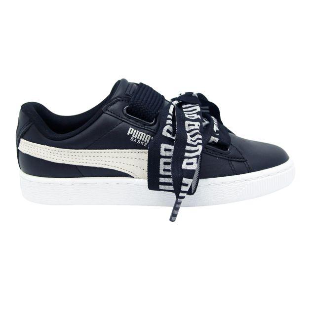 Puma Wns Basket Heart De Chaussures Mode Sneakers Femme