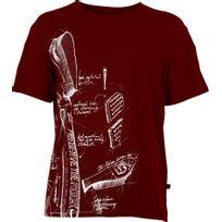E9 - Preserve - T-shirt manches courtes - rouge