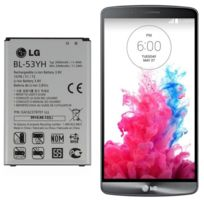 LG - G3 Bl-53YH - Batterie rechargeable Li-Ion Battery 3.8V 3000mAh - Batterie de remplacement d'origine