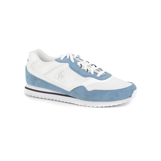 Le Coq Sportif Chaussures Louise Sport Suede blanc bleu clair clair bleu 8ceb25