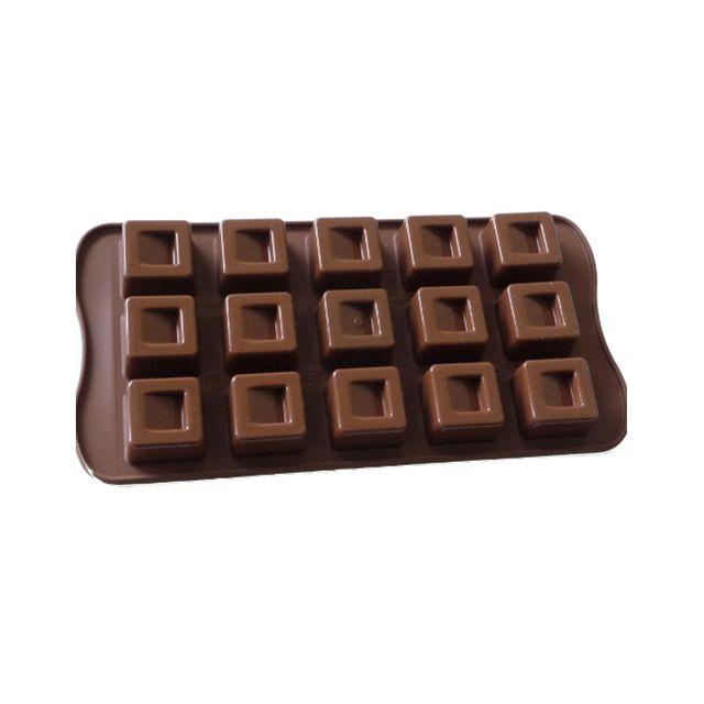Guery Moule silicone à chocolat carré
