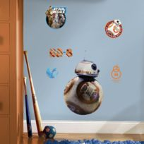 Roommates - Stickers Star Wars Ep Vii Droide Bb-8 Repositionnables 49x30cm