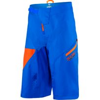 100% - R-core Supra Dh - Cuissard court - orange/bleu