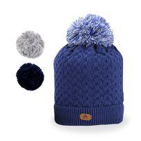 Cabaia - Bonnet Old Fashioned Bleu