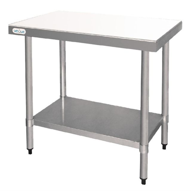 Vogue Table Inox de Découpe 500 x 500 inox 500