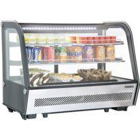 CASSELIN - vitrine réfrigérée à poser 160l - cvr160l