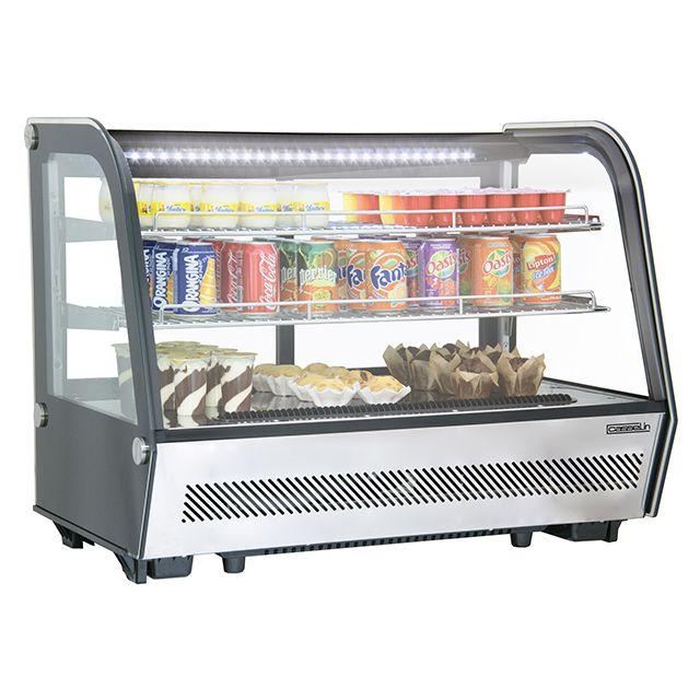 CASSELIN vitrine réfrigérée à poser 160l - cvr160l