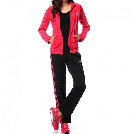 Adidas originals - Survêtement Clima Knit suit Rose Entrainement Femme  Adidas 1ab32469c5e