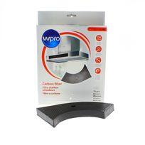 Wpro - Filtre charbon 260 x 135 x 26 mm pour Hotte