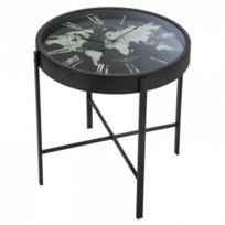 Table Basse Horloge Monde Atmosphera