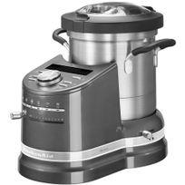 KITCHENAID - robot cuiseur multifonctions 4.5l 1550w gris étain - 5kcf0103ems
